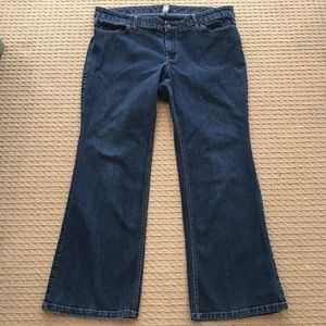 EUC! Old Navy Bootcut Stretch Denim Mid Wash Jeans